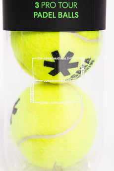 Osaka Pro Tour Padel Ball - 3 Ball Can