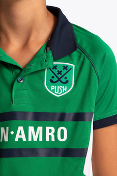 BHV Push Deshi Polo Jersey - Green / White