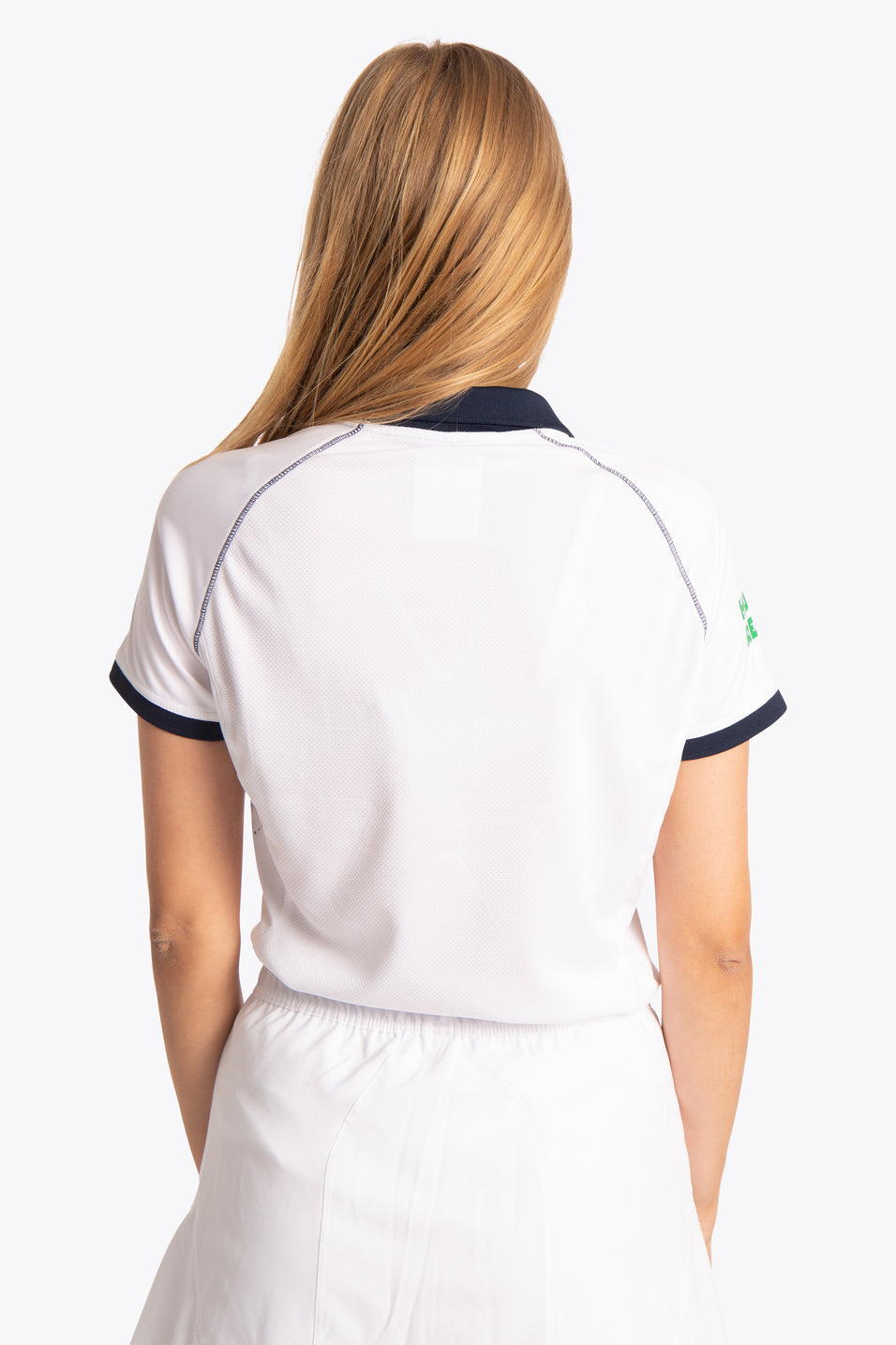 BHV Push Women Polo Jersey - White