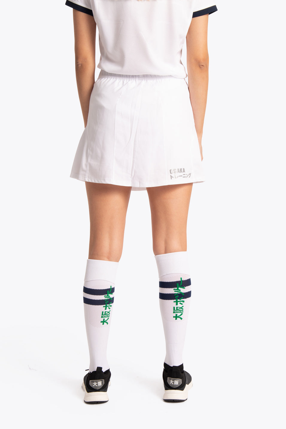 BHV Push Women Skort - White
