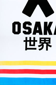 Osaka Beach Towel - White