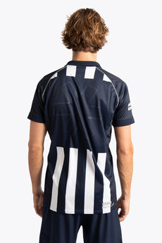 hdm Men Polo Jersey - Navy / White