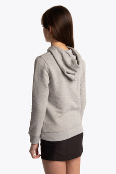 Deshi Hoodie Blue Star - Heather Grey