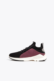 Women Low Run 4 - Black/Burgundy
