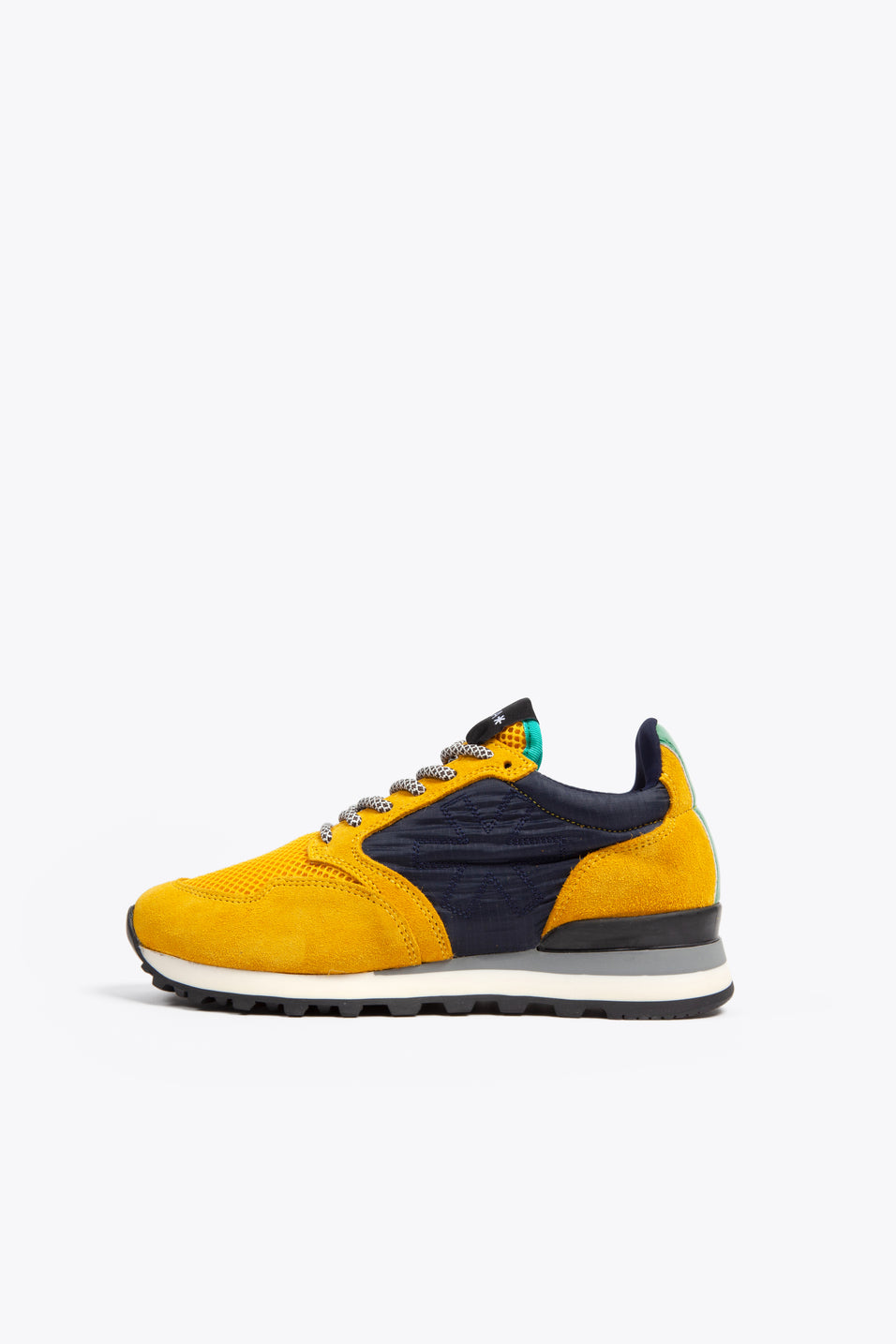 Women Retro Runner - Yellow/Green