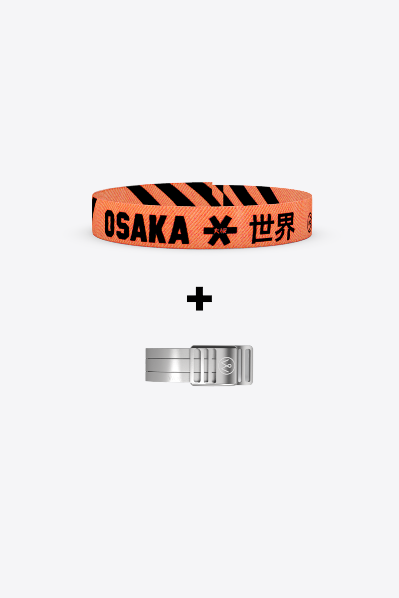 Wonder Buckle Bracelet - Osaka Black