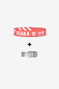 Wonder Buckle Bracelet - Osaka White