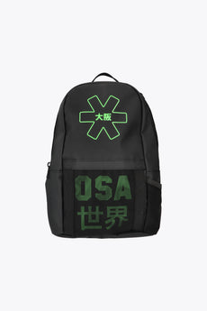 iconic black osaka backpack for kids