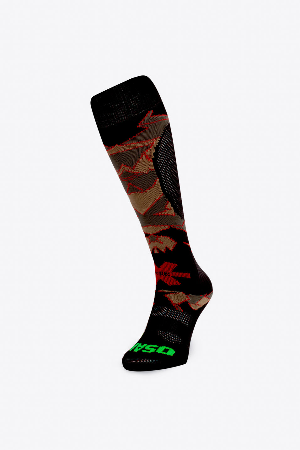 SOX - Desert Camo / Red
