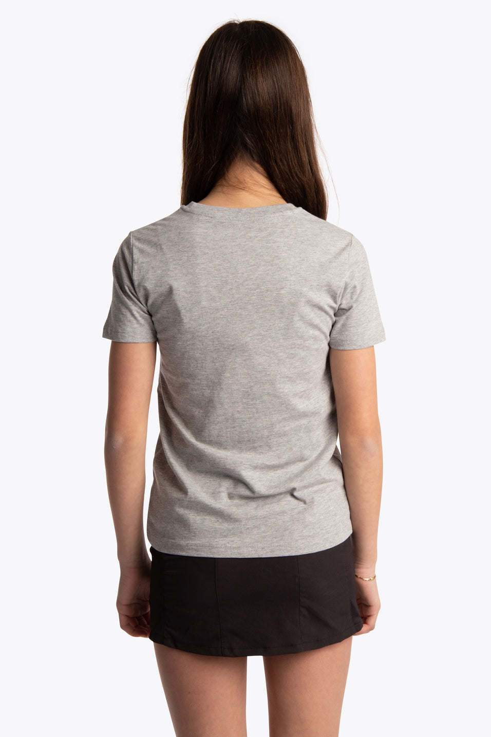 Deshi Tee Green Star - Heather Grey