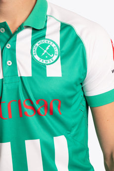 Temse Men Polo Jersey - Green / White