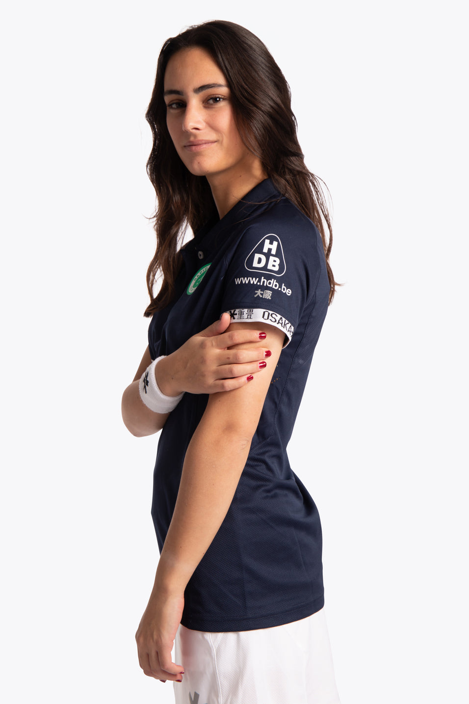 Temse Women Polo Jersey - Navy