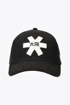 Osaka trucker cap black