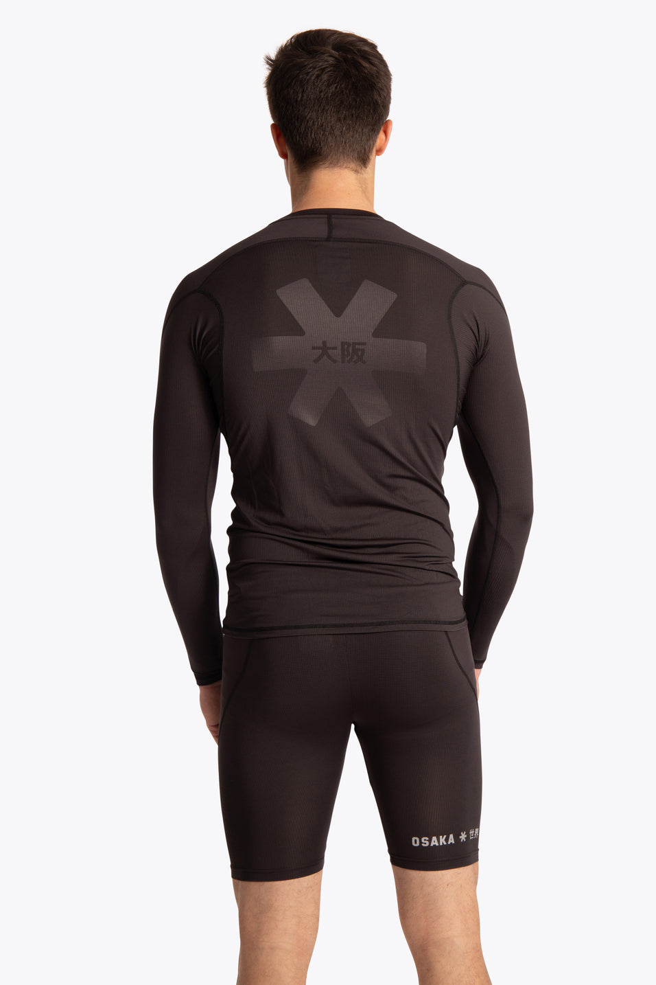 Men Baselayer Top - Black