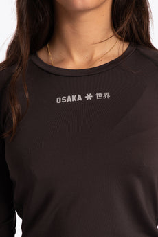 Women Baselayer Top - Black