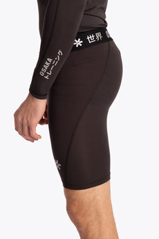 Men Baselayer Short - Black
