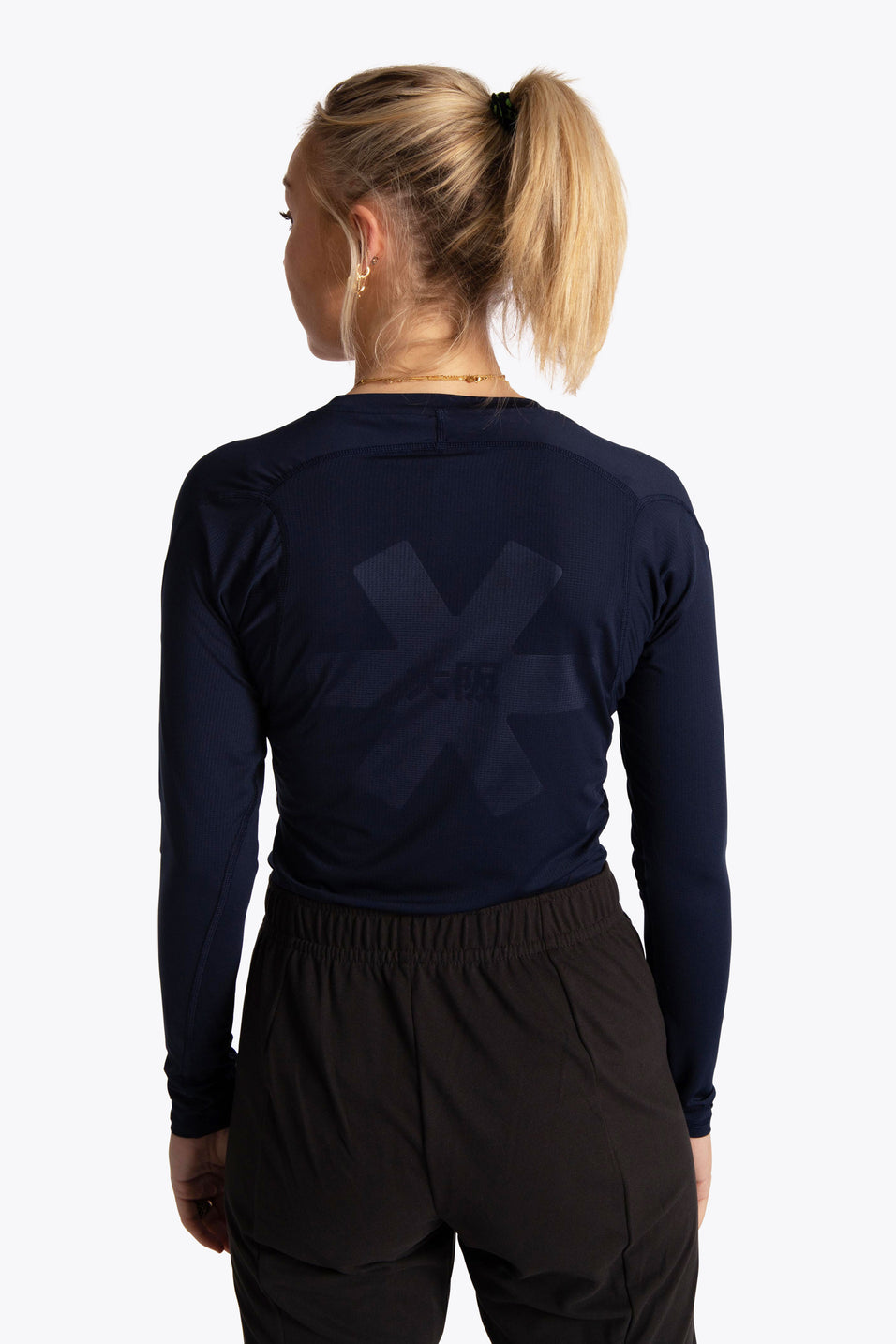 OSaka women base layer top navy