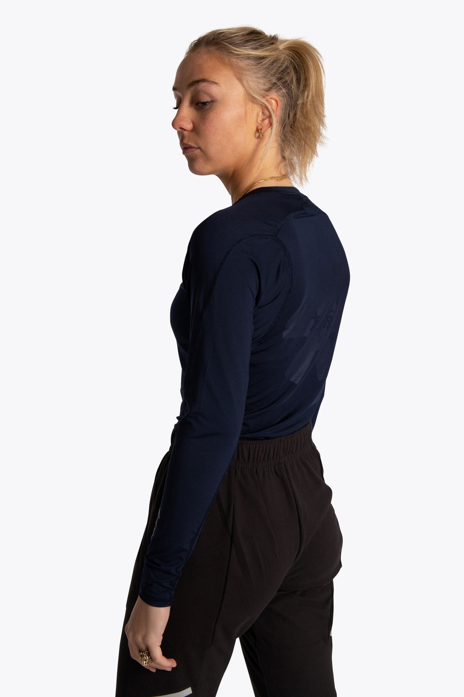 Women Baselayer Top - Navy