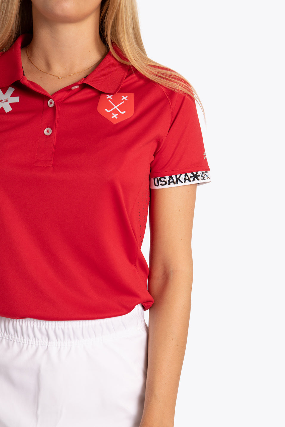 BH&BC Breda Women Polo Jersey - Red
