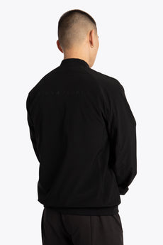 Men Bomber Jacket - Jet Black