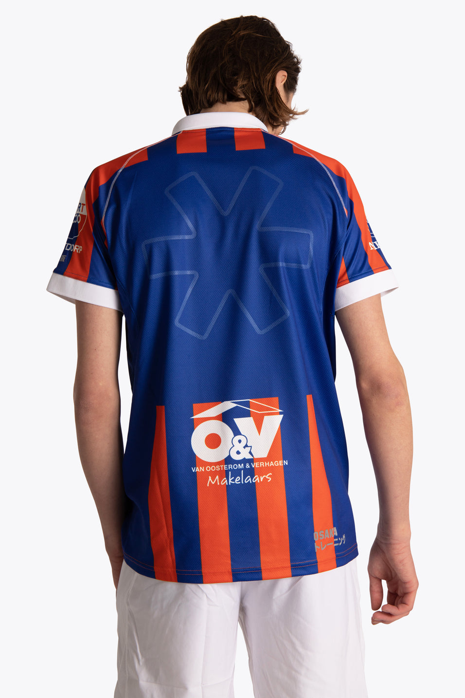 HC Ypenburg Men Polo Jersey - Blue / Orange