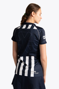 hdm Women Polo Jersey - Navy / White