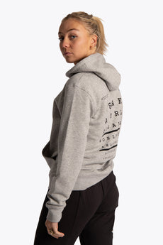 Osaka Hoodie Analogue Acuity - Heather Grey