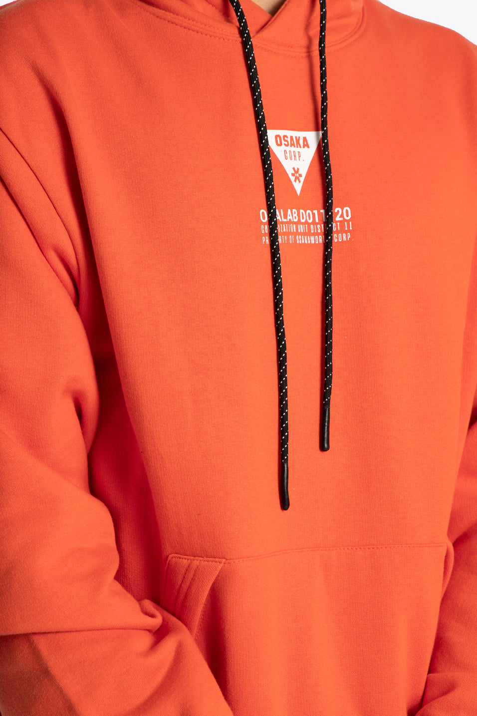 District 11 Hoodie - Orange - Unisex
