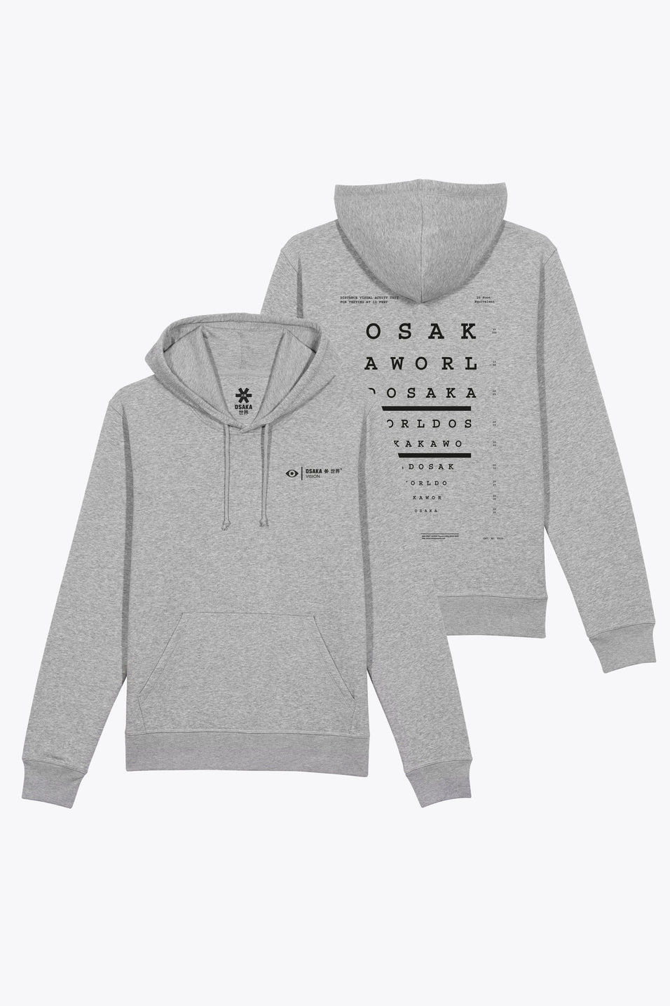Osakahoodie grey analogue