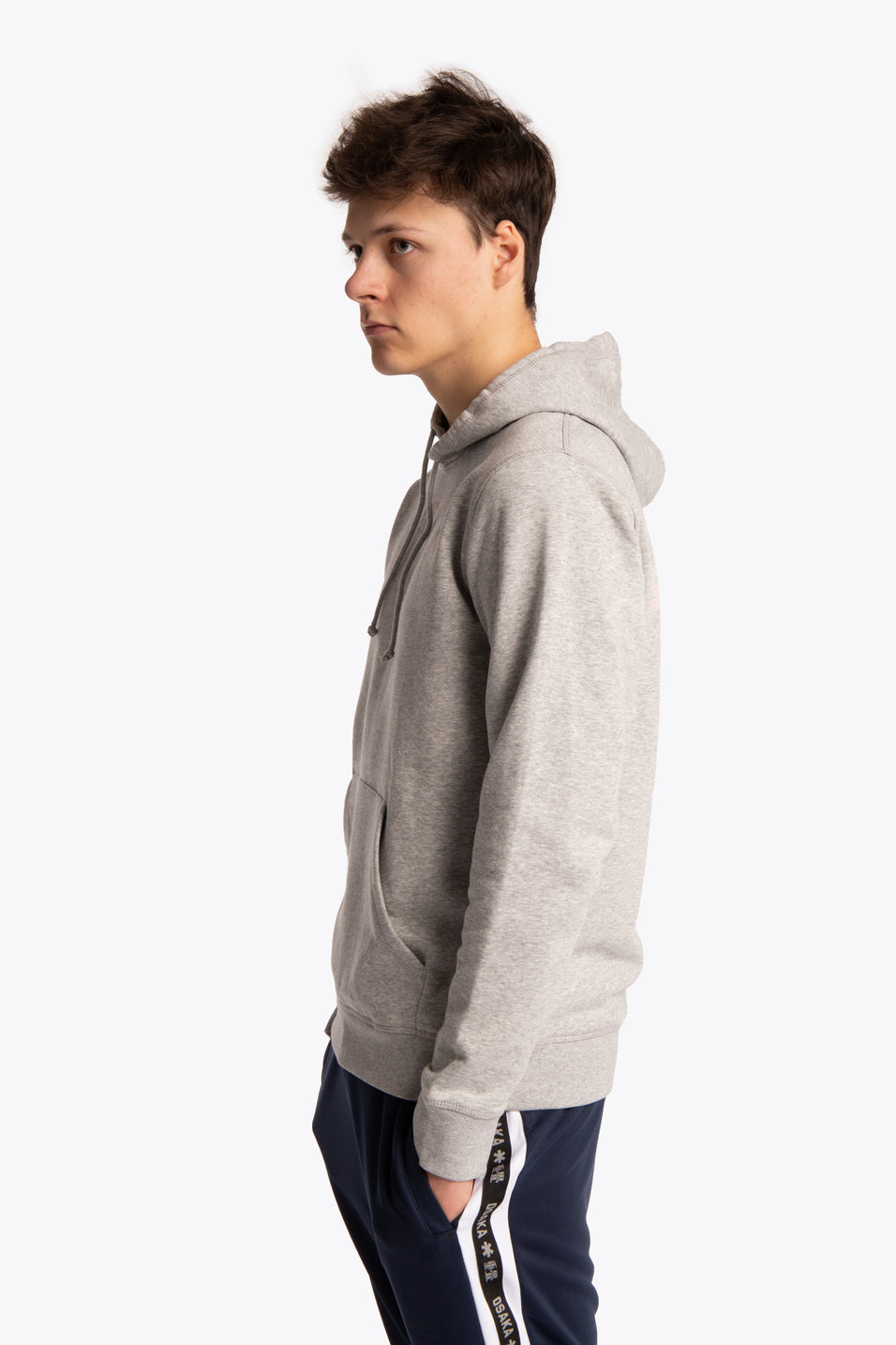 Hoodie District Signature - Heather Grey