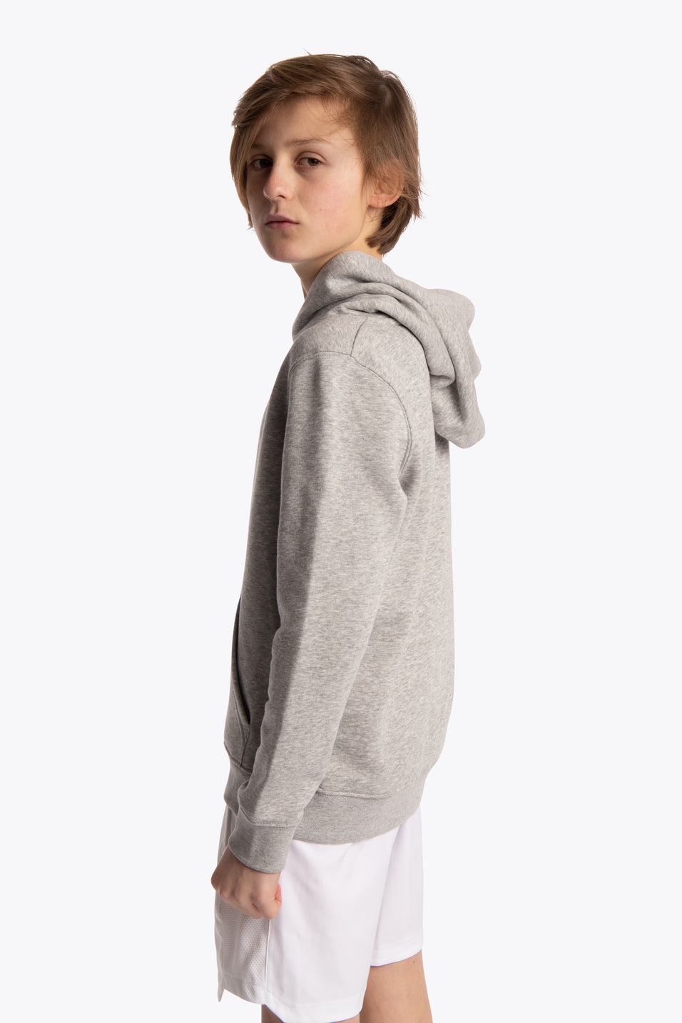 Deshi Hoodie Pollocs Star - Heather Grey
