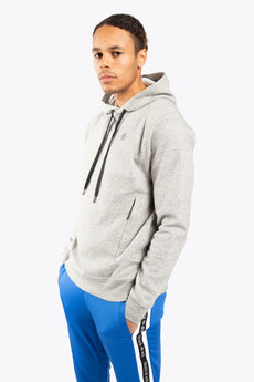 Men Techleisure Hoodie - Grey Melange