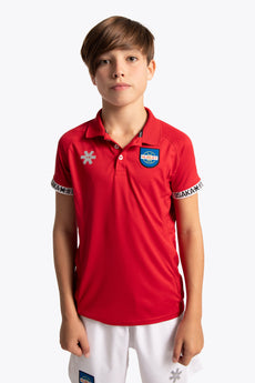 Hurley Deshi Polo Jersey - Red