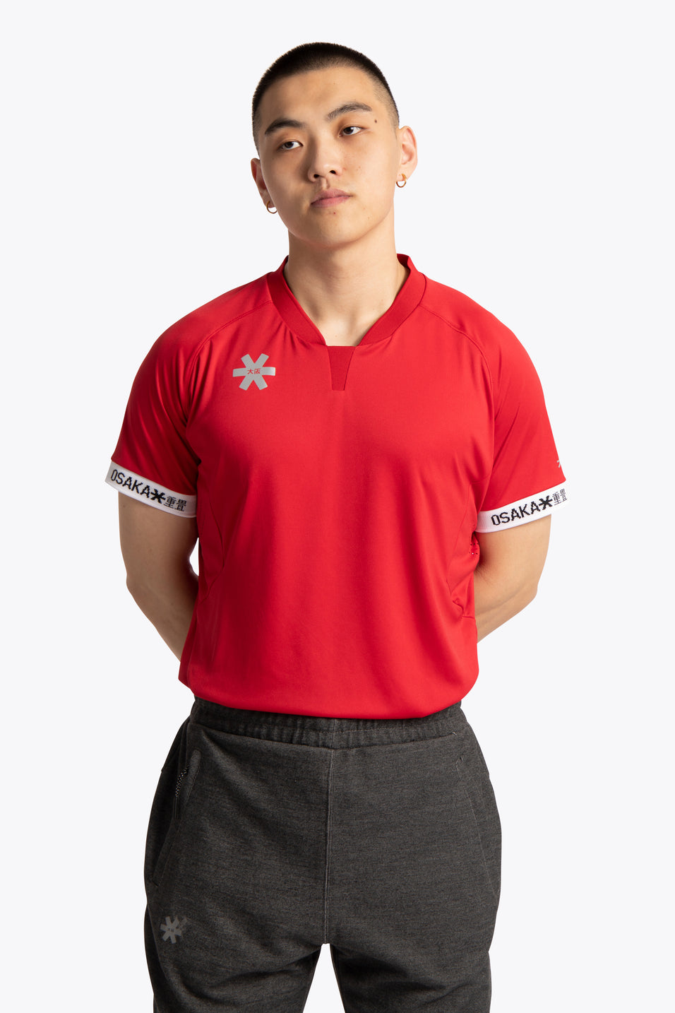 Men Jersey - Red