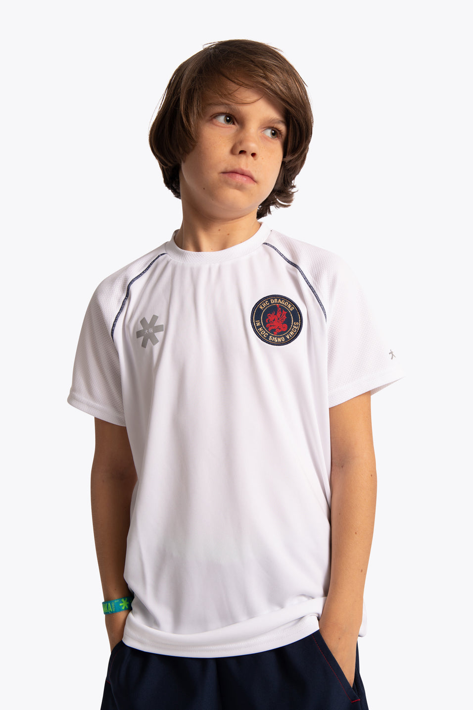 KHC Dragons Deshi Training Tee - White