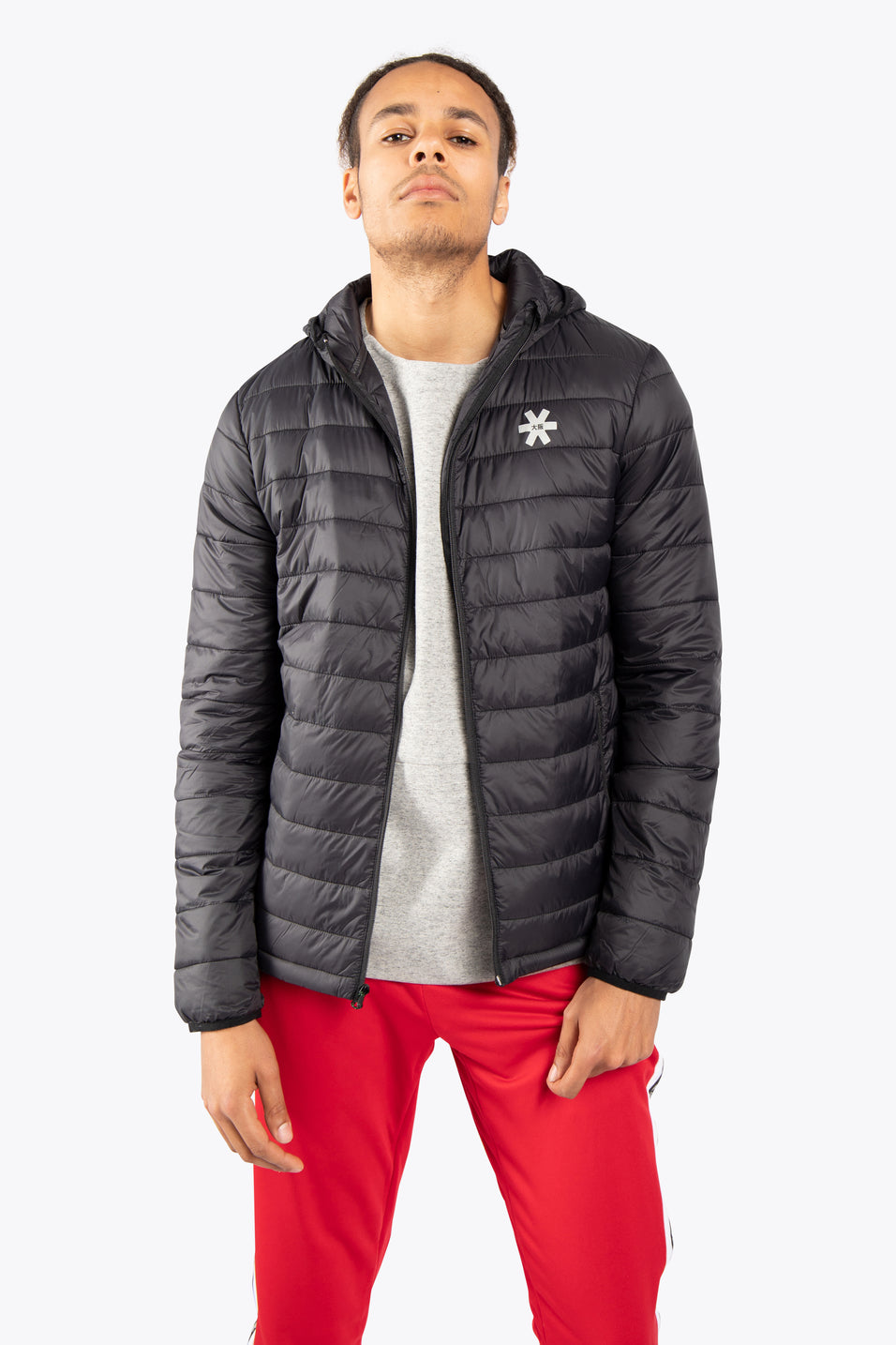 Men Padded Jacket - Black