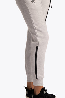 Women Techleisure Pant - Off White