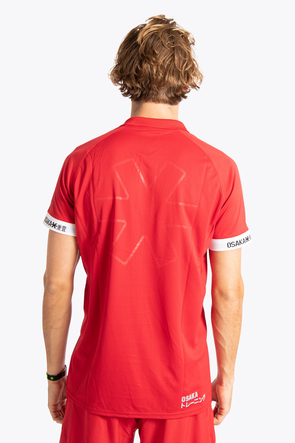 Osaka field hockey jersey red