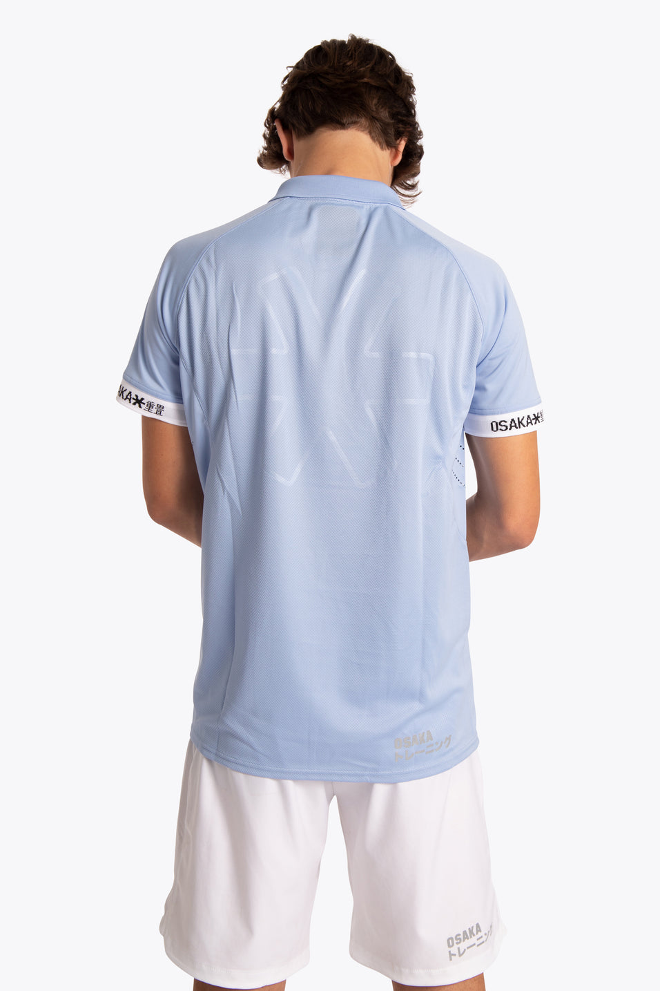 Men Polo Jersey - Sky Blue