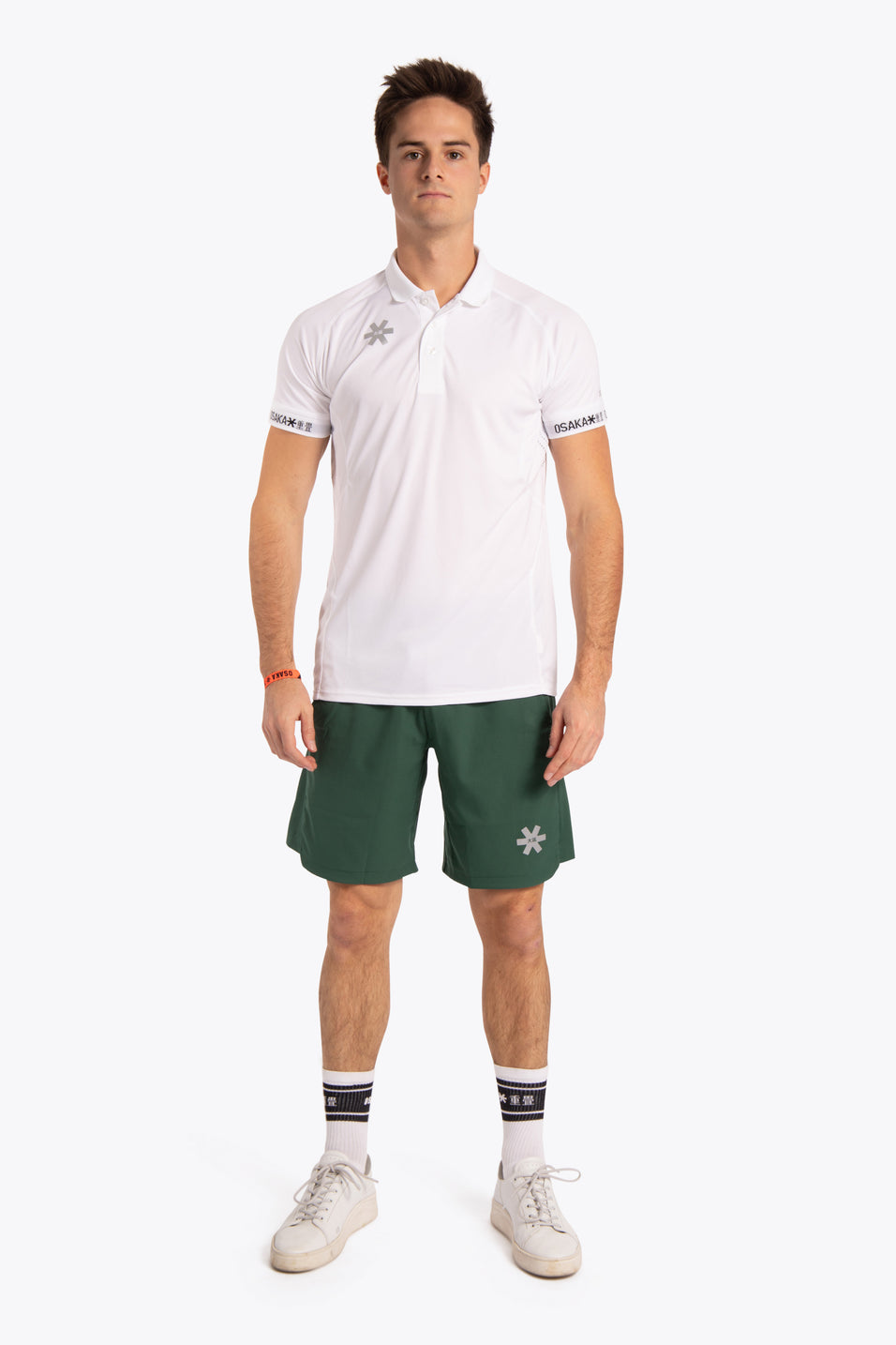 Osaka Men Polo Jersey - White