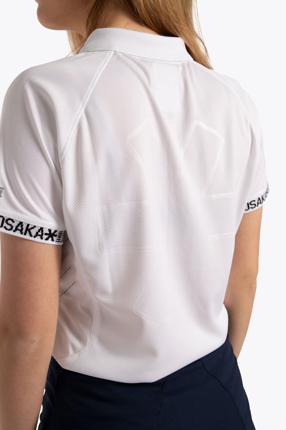 Women Polo Jersey - White