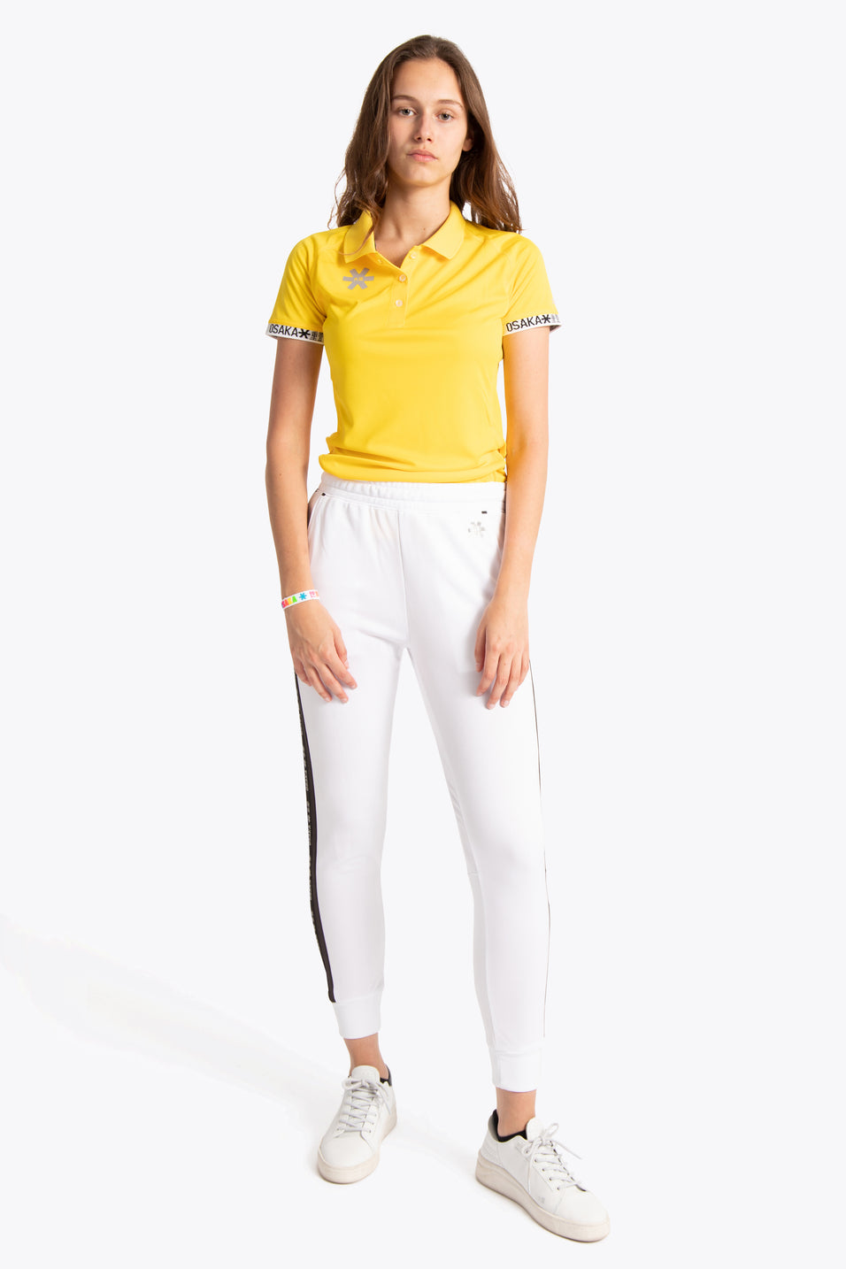 Women Polo Jersey - Yellow
