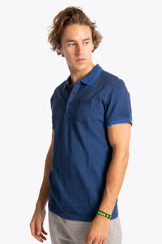 Men Polo Shirt - Navy / Blue