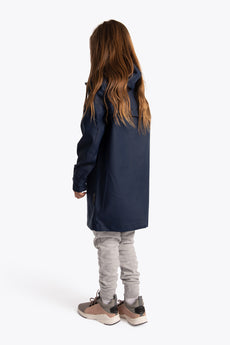 Deshi Rain Coat - Navy