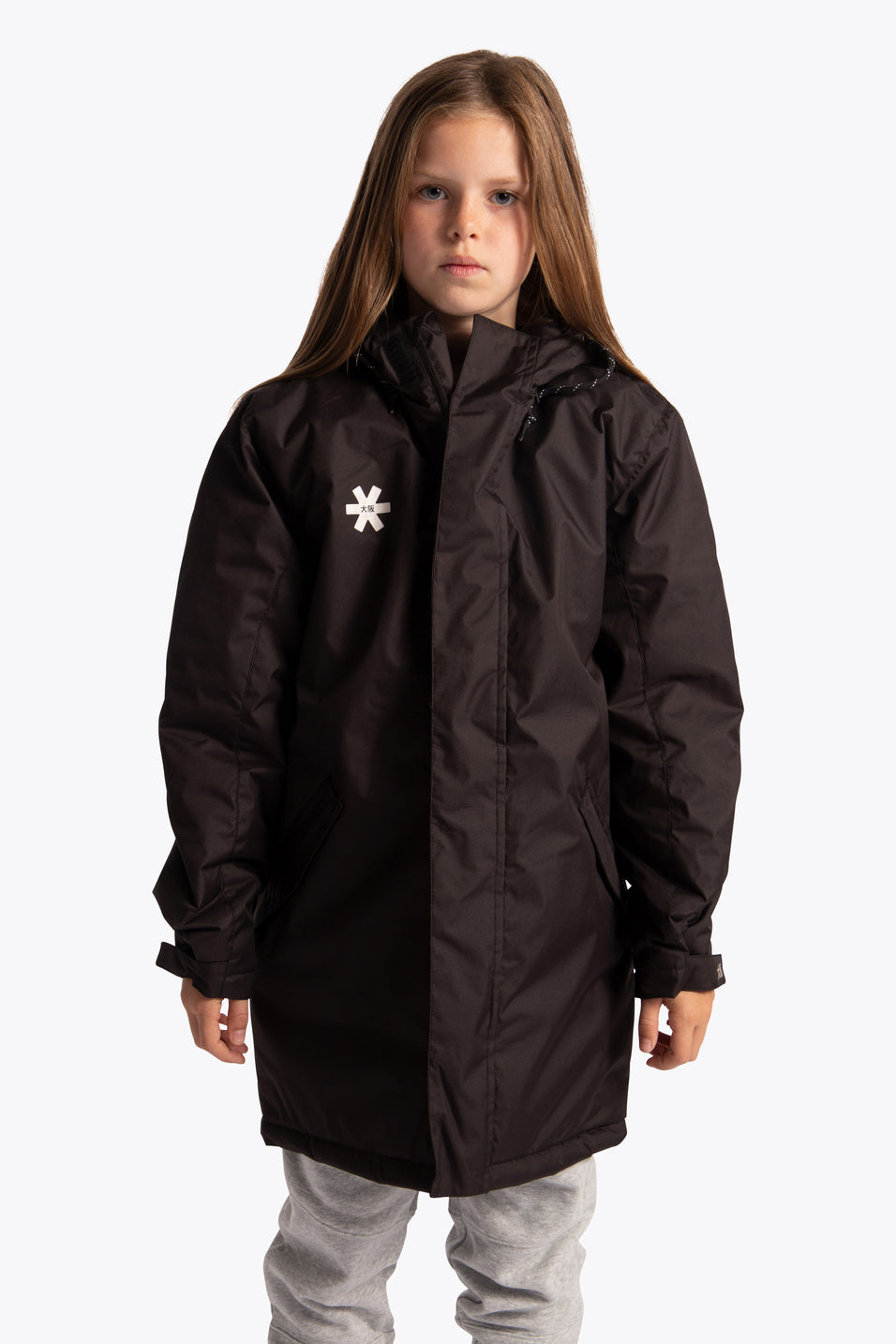 osaka kids jackets black