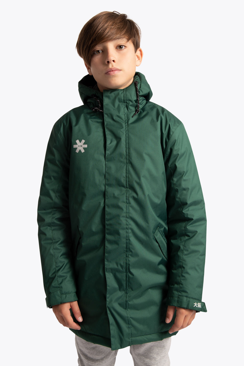 Osaka kid jacket green