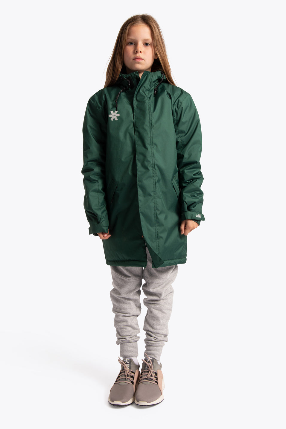 Deshi Stadium Jacket - Dark Green