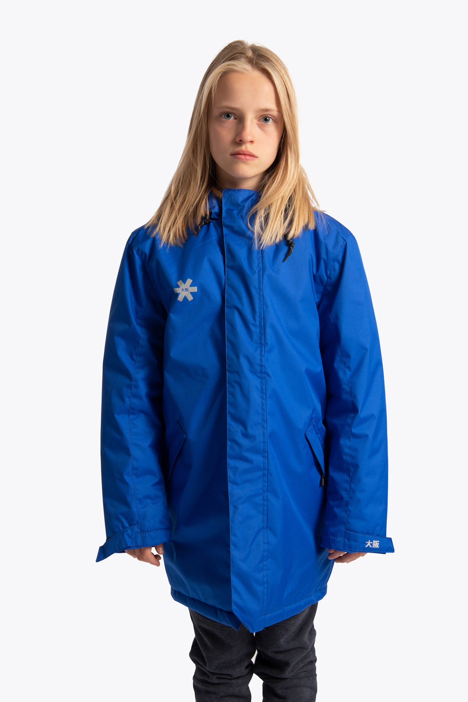 Deshi Stadium Jacket - Royal Blue