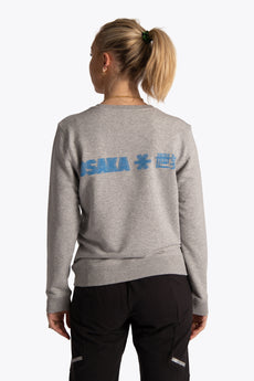 Osakaworld women sweater grey