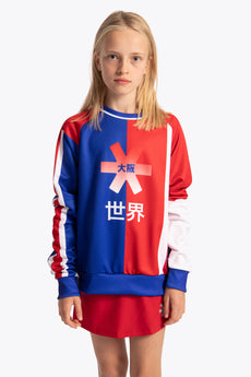Deshi Fanbase Sweater - Blue / Red / White